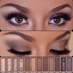 8 Awesome Smoky Eyes You Can Create With Urban Decay Naked Palettes