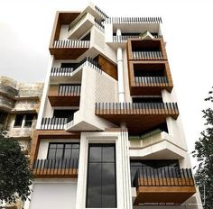 Modern Architecture Building Apartments – My Ideas Architecture Building Design, Brick Architecture, Building Facade, Facade Design, Landscape Architecture, Residential Building Design, Residential Architecture, Brick Facade, Facade House