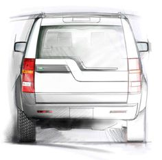 Land Rover LR3 rear