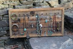 Wolftown Jewelry Display Rack from Reclaimed by YesterdayReclaimed,