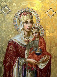Virgin Mary & Child Jesus