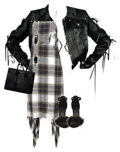 """""""Untitled #600"""" by chanelkillla ❤ liked on Polyvore featuring Public School, Yves Saint Laurent and Lynn Ban"""
