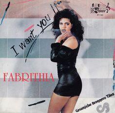 """Fabrithia - I Want You = Italo Disco on 7"""" ="""