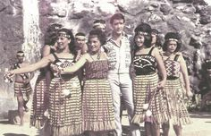 "Polynesia Culture Center In June 1966, Elvis Presley spent one week at the Polynesian Cultural Center filming a portion of Paradise Hawaiian Style. ""The King"" transposed the Isireli Racule's PCC-signature song, Bula Laie, into Drums of the Islands as part of the production... Click on the photo to continue the story. #TBT #throwbackthursday"