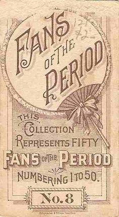 old cigarette card  ~ Vintage Ephemera