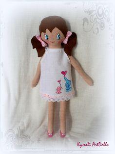 Doll for play Soft Dolls, Doll Clothes, Teddy Bear, Play, Toys, Handmade, Animals, Activity Toys, Hand Made