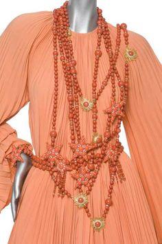 Valentino Evening ensemble Haute Couture Spring/Summer 1969