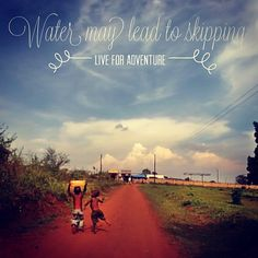 We love this pic of little Brian skipping in Uganda. www.theadventureproject.org/water Access To Clean Water, 1 Live, Love Pictures, Uganda, Sustainability, Adventure, Adventure Movies, Adventure Books, Sustainable Development