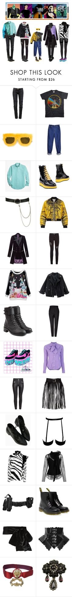 """""""The Second Chance's Team"""" by everysimpleplan ❤ liked on Polyvore featuring Levin, Balmain, Slave To Ancestors, Lee, Brooks Brothers, Wet Seal, Moschino, Burberry, Versus and Philosophy di Lorenzo Serafini"""