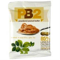Neu im Sortiment: PB2 im 24 g Beutel - Erdnussbutter mit nur 12.5 g Fett für CHF 2.--