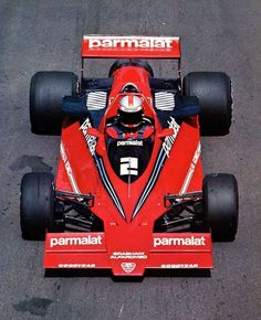 '78 Brabham BT46B - the fan car, seen in semi-private test at Brands Hatch, along with other revolutionary F1 cars of that time, 1978, before it was ultimately banned.