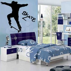 Wall Sticker SKATE by Sticky!!!