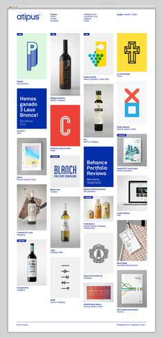 Web design & ui / The Web Aesthetic — Showcasing The Best in Web Design Ui Design, Grid Web Design, Interface Design, Layout Design, Graphic Design, Icon Design, Website Layout, Web Layout, Behance