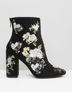 Image 2 - Miss Selfridge - Bottines brodées