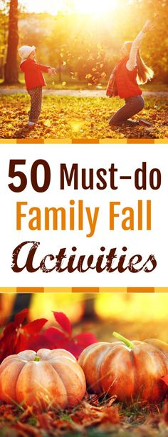 If you are looking for some fall family fun on a budget, then check out our 50 must-do family fall activities that any family would love! Frugal Family, Family Budget, Autumn Activities, Family Activities, Back To School Lunch Ideas, Parent Resources, Fall Family, Family Adventure, Fall Crafts