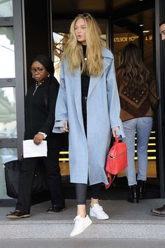 Romee Strijd Out And About In Milan