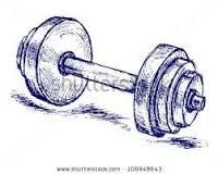 Just a very tiny dumbbell tattoo on my ankle or wrist....