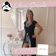 LINDA! A poderosa Eliane Gonçales arrasou nesse look by Mariquinha Store