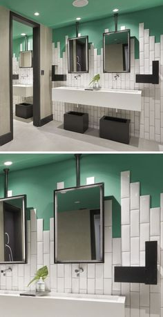 Image result for simple modern colorful bathroom tile design