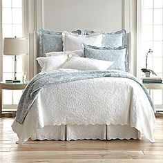 Yay! Purchased new bed set for our revamped bedroom!! Royal Velvet® Coralie Coverlet & Accessories on shopstyle.com