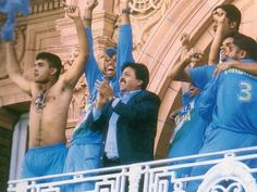 13th July 2002, India wins the Trophy by a thrilling 2 wickets victory over England at Lord's.
