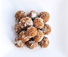 Anja's Food 4 Thought: Cinnamon Almond Butter Truffles