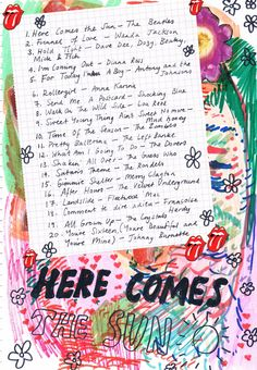 Rookie >> Friday Playlist: Here Comes the Sun