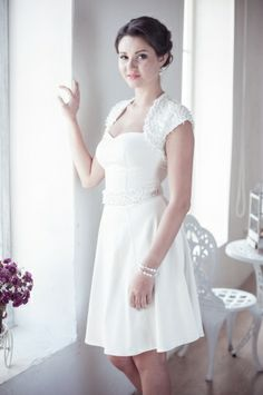 Apilat A-line short wedding dress M28 - $460.00 : Marry Me Charlie, Your Online Wedding House   The Marketplace Making a Difference