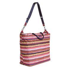 Lighten Up Expandable Travel Bag in Rio Squiggle, $98 | Vera Bradley