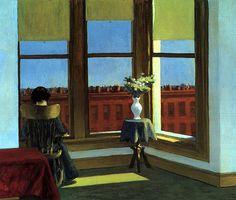 Room in Brooklyn (1932) by Edward Hopper.