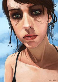 Wow! Take a look at this brill Quiet #KonamiFanArt, by obsceneblue on #DeviantArt. http://obsceneblue.deviantart.com/art/Quiet-505525035…