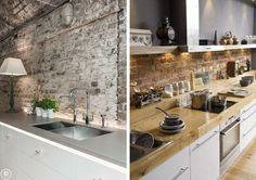 Wykończenie ściany nad blatem kuchennym - Myhome