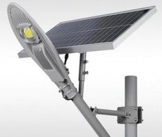 80W Solar Street Light with remote control, Automatic Day/Night switch – CCTV Direct