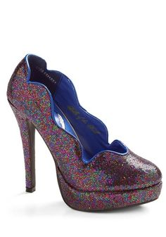 Fab-fetti Heel | Mod Retro Vintage Heels | ModCloth.com - StyleSays