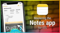 Notes for iOS - What You Need to Know About the Built-In Text Editor on Your iOS Device - YouTube Text Editor, Ipad Pro, Need To Know, Ios, Tech, Iphone, Youtube, Technology, Youtubers