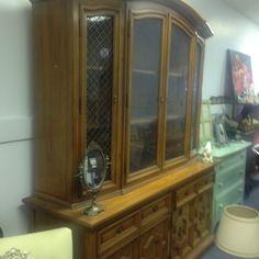 Elegant Breakfront Primitive Antiques, Room Set, China Cabinet, Gentleman, Bookcase, Dining Room, Elegant, Home Decor, Dinner Room