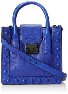 LOEFFLER RANDALL Accessories Babywrkto-TL Cross-Body Bag Blue �