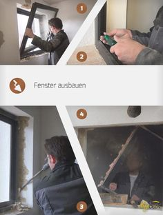 Fenster ausbauen For thermal renovation old windows often have to give way. The instructions show how old windows can be removed & completely non-destructively. The post Remove window appeared first on Leanna Toothaker. Old Windows, Beach Ready, Wicker Baskets, Dollar Stores, Helpful Hints, Sweet Home, Old Things, How To Remove, Diys