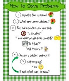 How to Solve Problems Poster