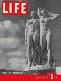 """N.Y. World's Fair -  Life Magazine, March 13, 1939 issue - Visit http://www.oldlifemagazines.com/the-1930s/1939/march-13-1939-life-magazine.html?q= to purchase this issue of Life Magazine. Enter """"pinterest"""" for a 12% discount at checkout - N.Y. World's Fair"""