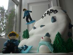 Tarta Trapo Snow Board