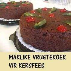Vrugte koek South African Recipes, 3 Ingredients, Cake Recipes, Cooking Recipes, Pudding, Sweets, Baking, Eat, Desserts