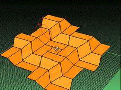 Rigid Origami. Rigid folding in Rhino with Grasshopper