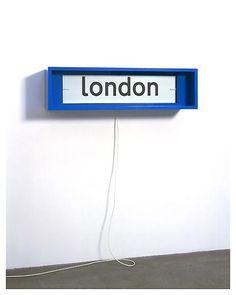 (Source: goffgough, via aced-fox) Bleu Indigo, Wayfinding Signage, London Bridge, Fashion Mode, London Calling, Best Cities, Color Inspiration, Interior And Exterior, Interior Decorating
