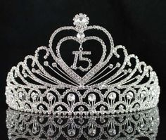 You are looking at gorgeous sweet sixteen tiara with hair combs. All rhinestones sparkle and are prong set by hands. Side hair combs for more security. This tiara is perfect for prom, party or any special occasions. Birthday Tiara, 16 Birthday Cake, Sweet 16 Birthday, 16th Birthday, Birthday Ideas, Birthday Sash, Sixteenth Birthday, Birthday Outfits, Birthday Stuff