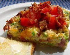 Southern Breakfast Pie Recipe from Drick's Rambling Cafe on Alabama's gulf coast.