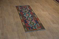 Hand Woven Mazar Kilim from Afghanistan. Length: 201.0cm by Width: 70.0cm. Only £138 at https://www.olneyrugs.co.uk/shop/kilims-for-sale/afghan-mazar-21176.html    Take a look at our distinguished assortment of oriental and Persian rugs, carpets, footstools and Kilim cushion covers at www.olneyrugs.co.uk