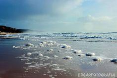 Um passeio pela praia (Fonte da Telha)