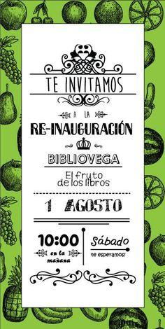 Si vas andar por La Vega Central, participa de nuestras actividades en la reinaguración. Abrazos frutales!