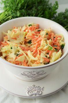 Salata Coleslaw - Retete culinare by Teo's Kitchen Kfc, Coleslaw, Vinaigrette, Cabbage, Appetizers, Gluten, Cooking Recipes, Favorite Recipes, Vegan